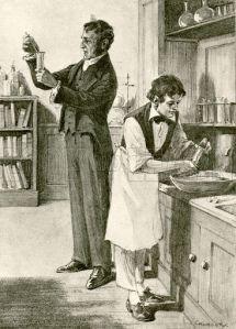Davy y Faraday. Camblery (1932)