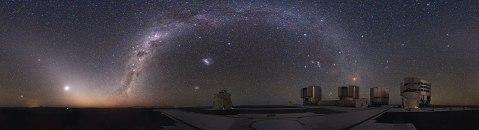 Observatorio Paranal. Fotografía: ESO/Y. Beletsky